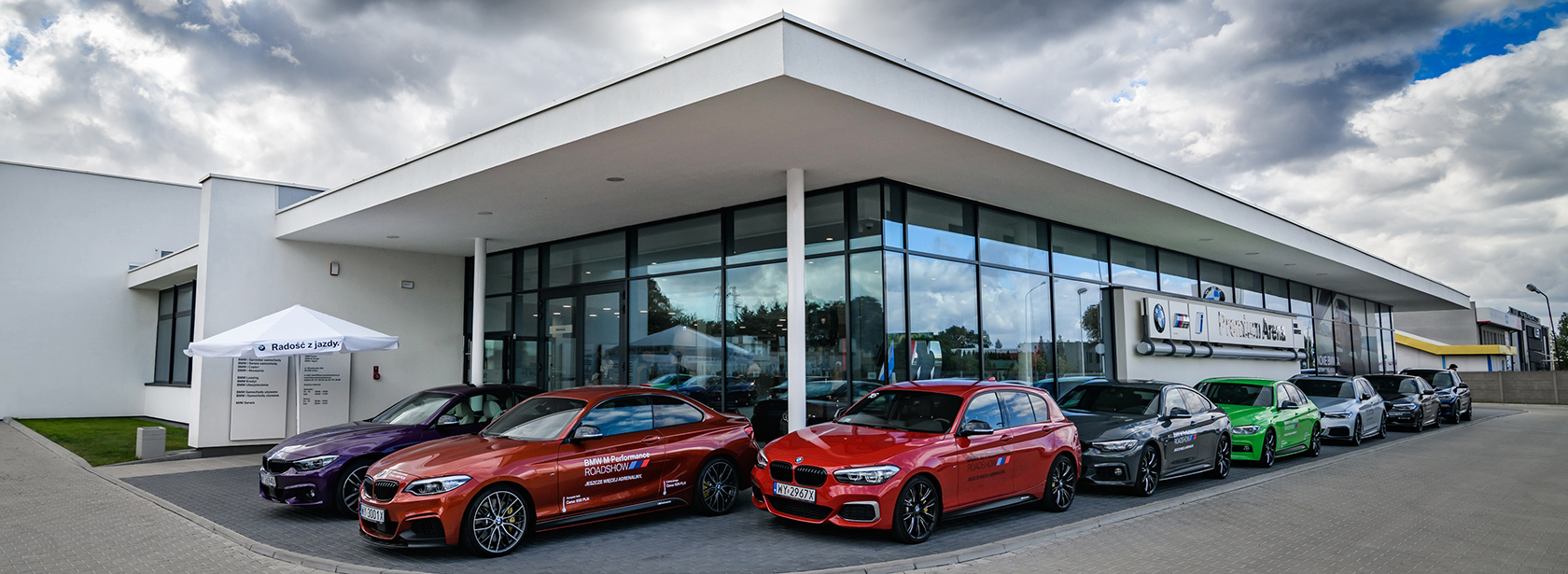 Salon Dealer BMW Premium Arena Kalisz.